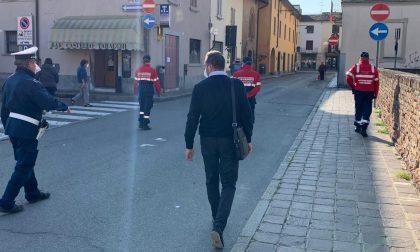 A Pandino servizio di ronda anticontagio Covid-19 coi carabinieri in congedo
