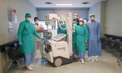 Arriva in ospedale la prima Rx mobile donata dal Com Bassa Bergamasca