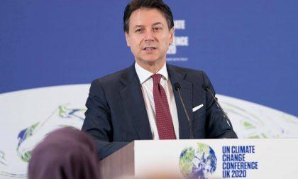 L'ex premier Conte in visita a Treviglio