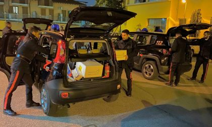 I carabinieri riforniscono farmacie e ospedali della provincia