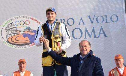 Marco Mangolini centra l'oro nel tiro a volo