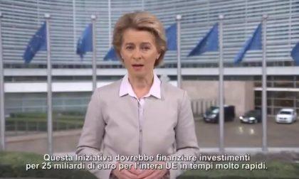 """Ursula Von der Leyen: """"In questo momento in Europa siamo tutti italiani"""" VIDEO"""