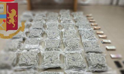 Ancora narcotraffico: 37,4 chili di marijuana  sequestrati tra Segrate e Calcinate
