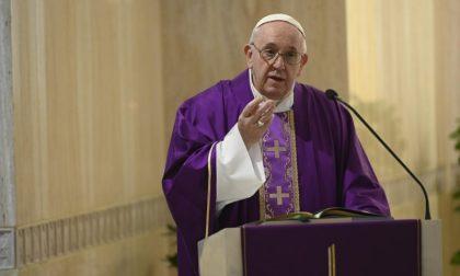 Il Papa a Santa Marta prega per i medici di Treviglio e Bergamo VIDEO
