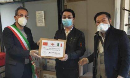 """Mascherine, guanti e prodotti igienizzanti dalla Cina: Caravaggio ringrazia """"Mario"""""""