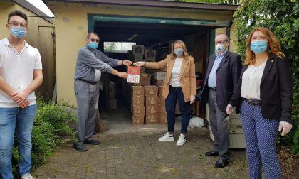 Pacchi alimentari a 100 famiglie grazie al Rotary Cremasco San Marco
