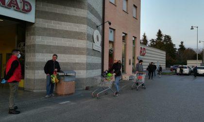 Faresi e pontirolesi sorvegliati speciali ai supermercati di Canonica
