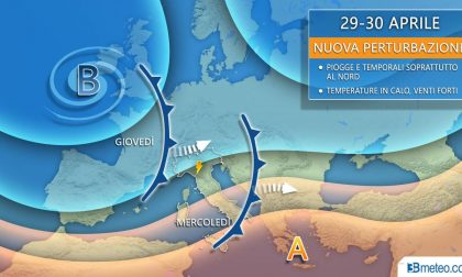 In arrivo temporali al Nord, sarà un Primo maggio mite
