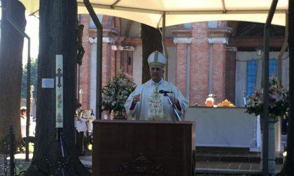 Il Vescovo per i 588 anni dell'Apparizione della Madonna di Caravaggio FOTO