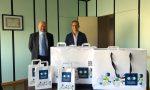 Oxo Bergamo, donate 884 confezioni di lenti a contatto a operatori sanitari e volontari