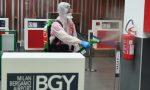 Sanificazione all'aeroporto di Orio al Serio, lo scalo è pronto a riaprire VIDEO