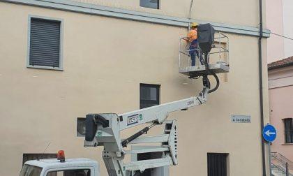 Riqualificazione dell'illuminazione pubblica: al via i lavori