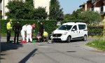 Schianto ad Arcene, grave un motociclista FOTO VIDEO