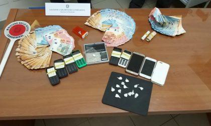 Arrestato spacciatore con 11mila euro in contanti