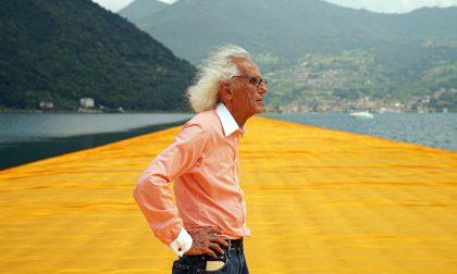 E' morto Christo, l'artista della passerella sul lago d'Iseo