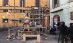 Restaurata la Fontana del Delfino FOTO