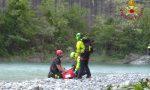 Centauro ferito a Verdello, a San Pellegrino 24enne incastrata tra i rovi in riva al Brembo FOTO