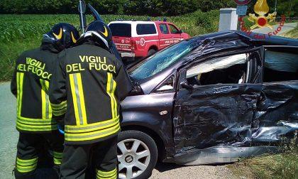 Incidente a Mornico, Tir contro auto sulla Sp 98