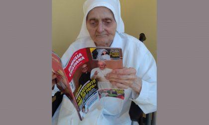 """Suor Ambrogia compie 101 anni e sconfigge il virus: """"La vita ha vinto"""""""