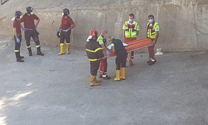 Cadavere nell'Adda a Fara: era in acqua da settimane, mistero sull'identità
