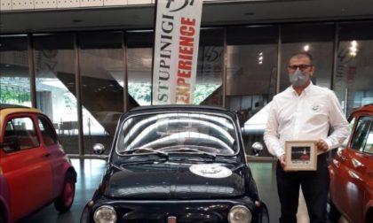 La 500 del basellese Campana in mostra al museo di Torino