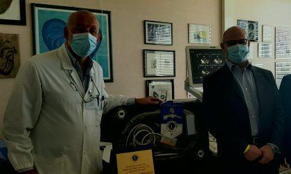 I Lions donano un ecografo 3D alla Cardiologia di Treviglio