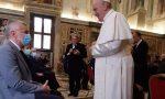 Medico, infermiere, cappellano: la delegazione dell'ospedale di Treviglio in visita al Papa