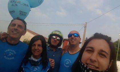 Il runner Lorenzo corre 100 km da Crema a Bergamo e ritorno FOTO