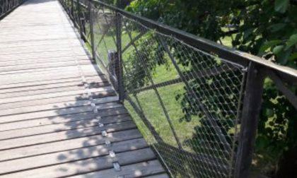 Passerella sull'Adda in sicurezza, ma contro la rete in acciaio scatta la petizione