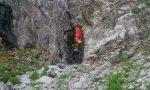 Alpinista di Antegnate cade in Presolana, salva