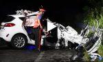 Tragico schianto a Gorgonzola, morti due giovani VIDEO