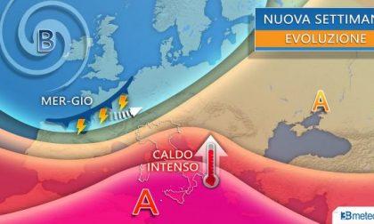 Arriva un'intensa ondata di caldo africano anche al Nord