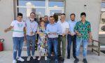 L'assessore regionale Fabio Rolfi in visita a tre aziende agricole del paese