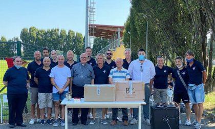 """Monsignor Gian Carlo Perego """"torna a casa"""" per benedire il centro sportivo"""