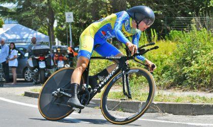 Ciclismo, bronzo trevigliese agli Europei di cronometro