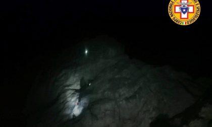 Tre giovani alpinisti bloccati sulla Presolana, salvati dal Soccorso Alpino