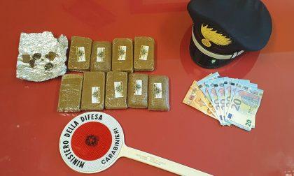 Trovata con quasi un chilo di hashish, 35enne arrestata