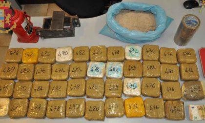 Fermato a Milano, aveva 21 kg di eroina: arrestato albanese residente a Bergamo