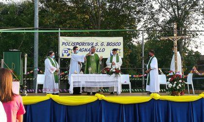 Festa grande per i settant'anni della Polisportiva con il vescovo FOTO