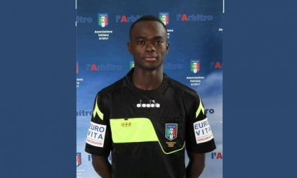 Da Treviglio l'arbitro di Inter-Lugano Abdulaye Diop