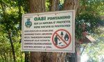 Degrado al Fontanino, vandalizzata l'oasi verde FOTO