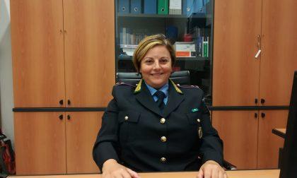La prima comandante donna della Polizia locale si presenta ai suoi nuovi cittadini