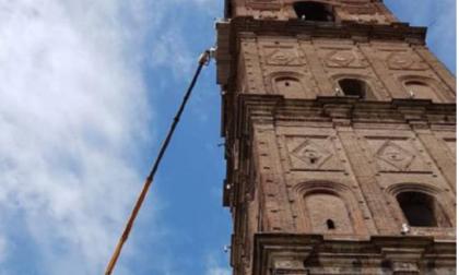ll nuovo impianto antivolatile del campanile parrocchiale non piace agli animalisti