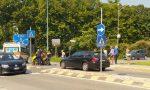 Tamponato sullo scooter, 76enne trasportato in ospedale FOTO