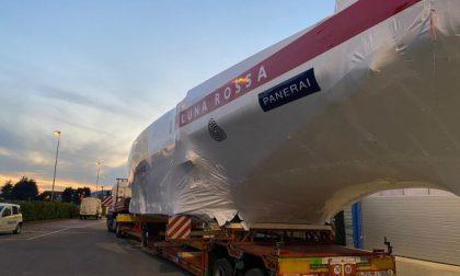 """La nuova Luna Rossa è """"salpata"""" dallo stabilimento della Persico Marine"""