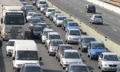 Ribaltamento in A4 tra Trezzo e Capriate: traffico in aumento verso Venezia