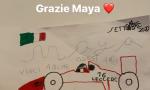 La piccola Maya commuove Leclerc: il suo disegno fa il giro del mondo
