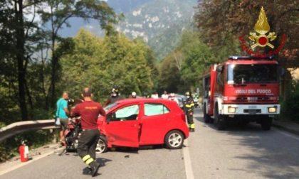 Incidente blocca la strada in Val Seriana: chilometri di coda FOTO