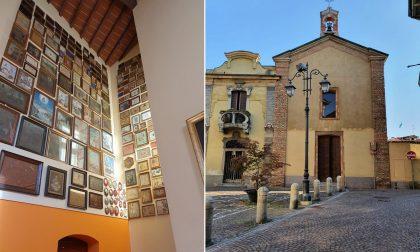 """La cappella dei Miracoli: a Treviglio riapre la raccolta degli """"ex voto"""" al Santuario FOTO"""