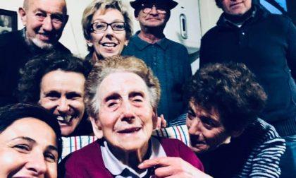 Brignano saluta la sua decana Lina, 101 anni